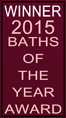 2015 Bathroom of the year winner Wardell Builders