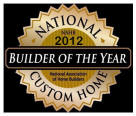 National Custom Home Builer Oof The Year Award